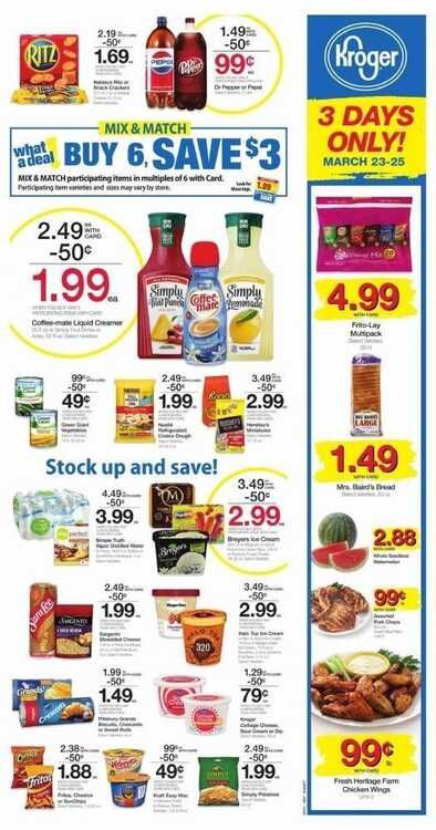 kroger ad this week March 24 to March 27 2018 - Page 2 of 6