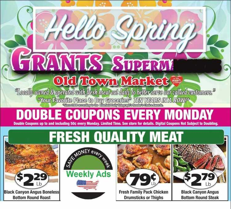 grants supermarket weekly ad galax va 4/5 to 4/10 2018