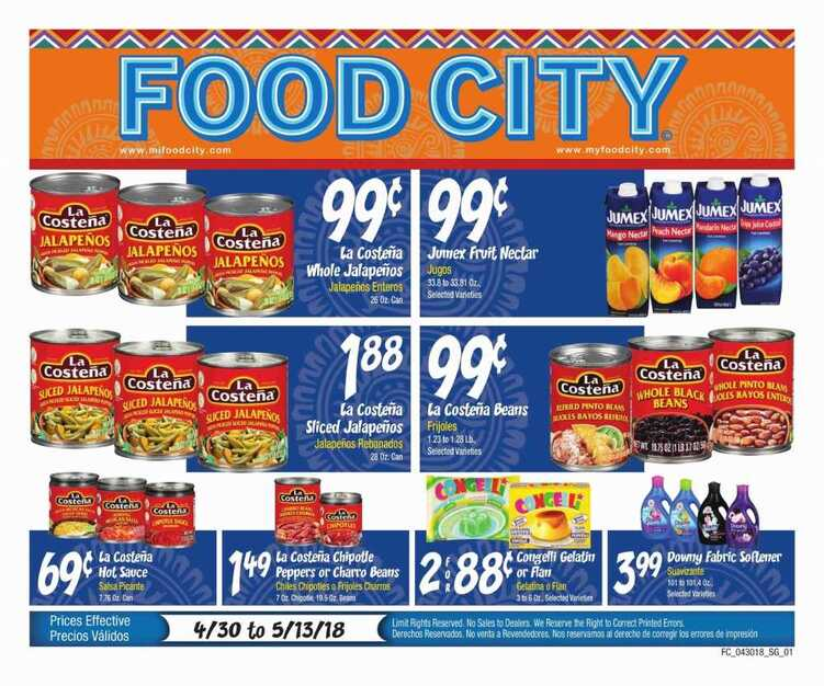 food city ad for this week 5/3 to 5/13 2018