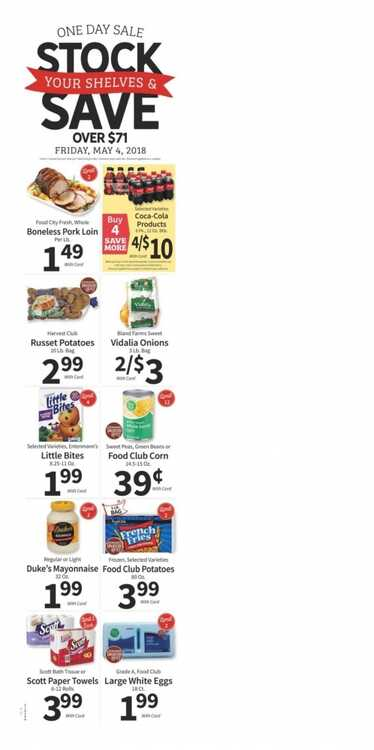 food city weekly ad 5/2 to 5/8 2018