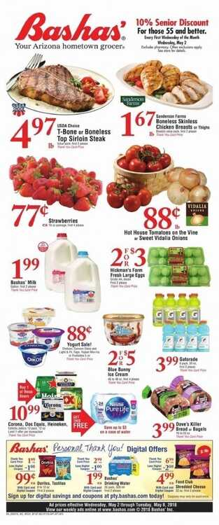 bashas ad for this week 5/3