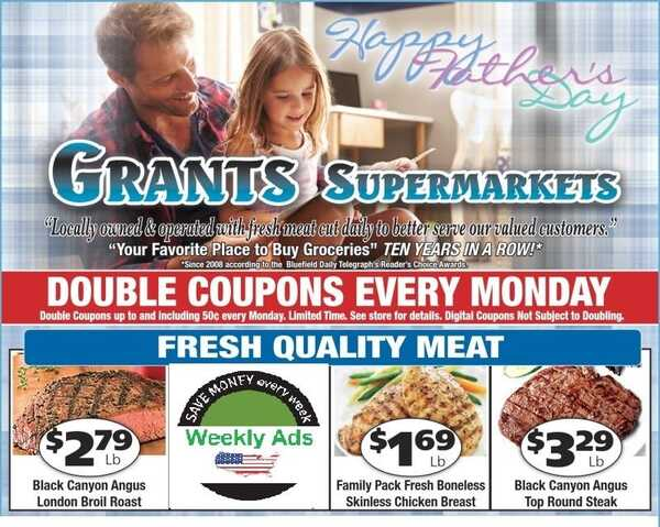 grant's weekly ad Most stores - specials for June 16 - 22