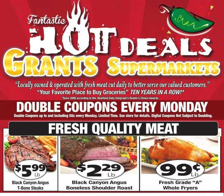 grants grocery weekly ad 7/14
