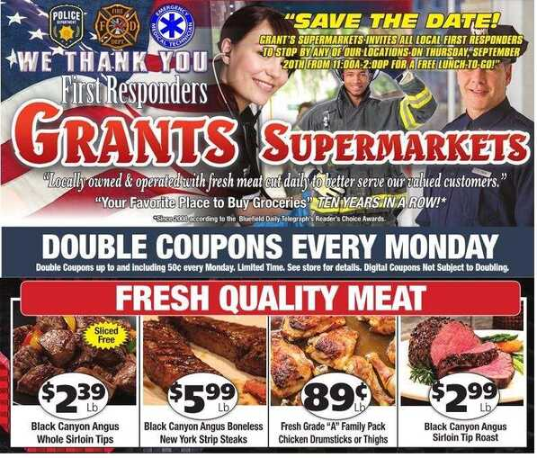 grant's weekly ad 9/9