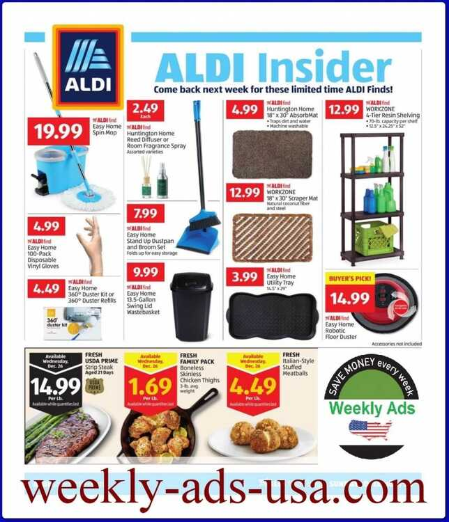 aldi weekly ad 12/23 to 12/29 2018 ALDI INSIDER Ads
