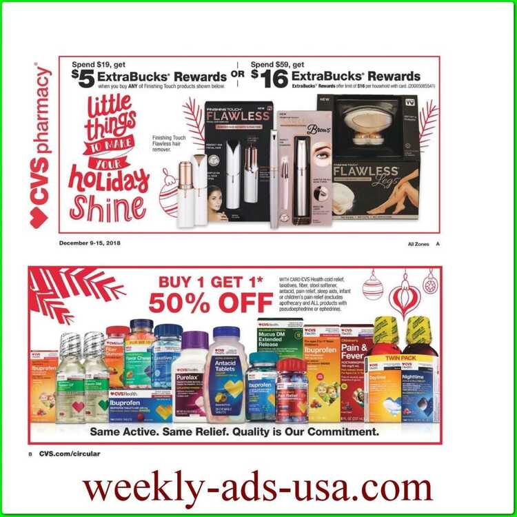 cvs weekly ad 12/9 to 12/15 2018 cvs 3 day sale 12/9 - 12/11