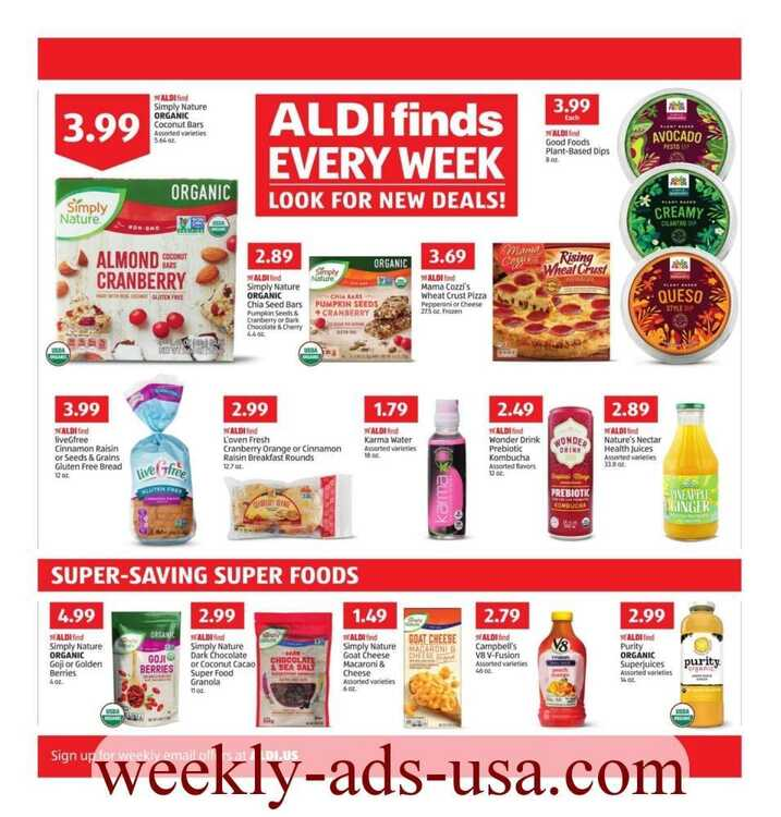 aldi weekly ad 1/2 to 1/5 2019 This Week's Hot Deals!